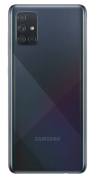 Смартфон Samsung Galaxy A71 128Gb Чёрный (SM-A715F)