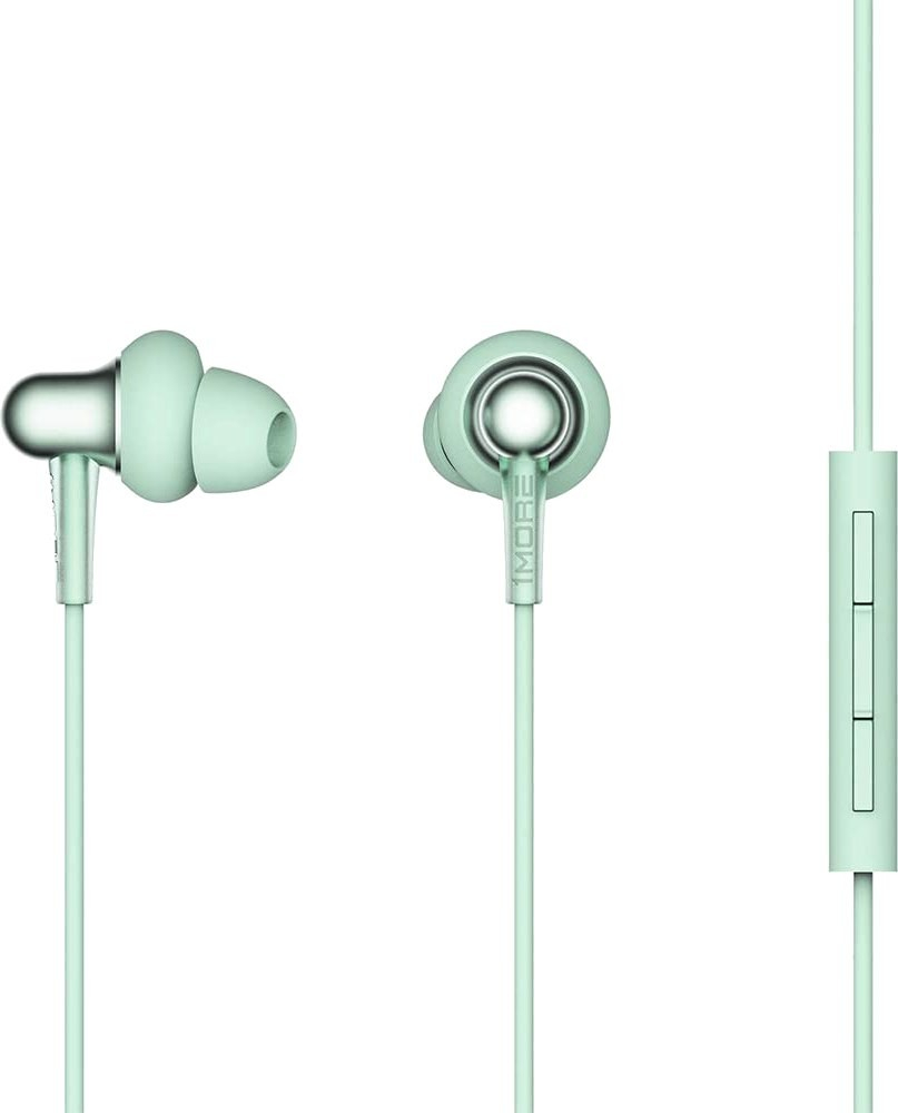 Наушники 1More Stylish Dual-Dynamic In-Ear Headphones Green