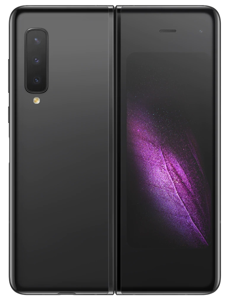 Смартфон Samsung Galaxy Fold 512Gb Чёрный (SM-F900F)