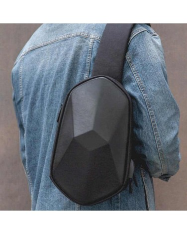 Рюкзак XiaoMi Tajezzo BEABORN Polyhedrone Backpack Chest Bag Black