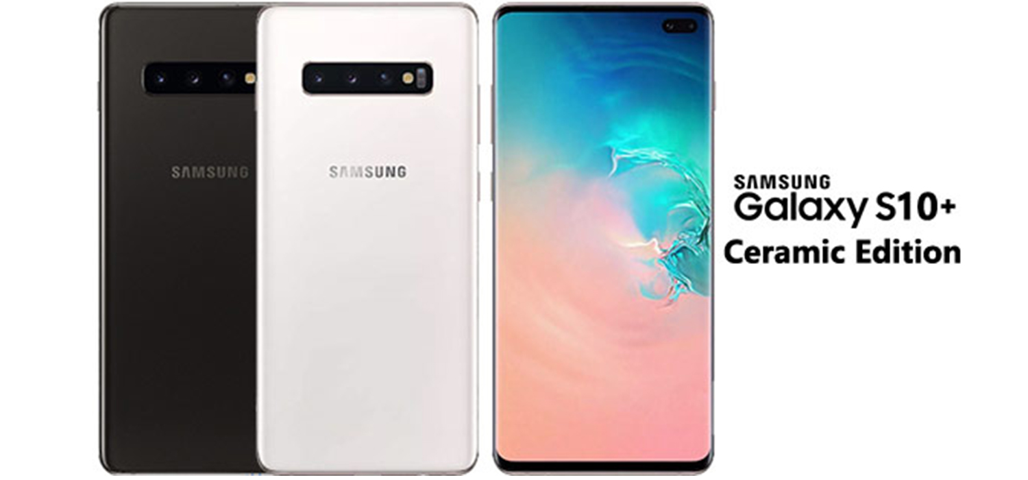 Samsung Galaxy S10 Plus Ceramic White