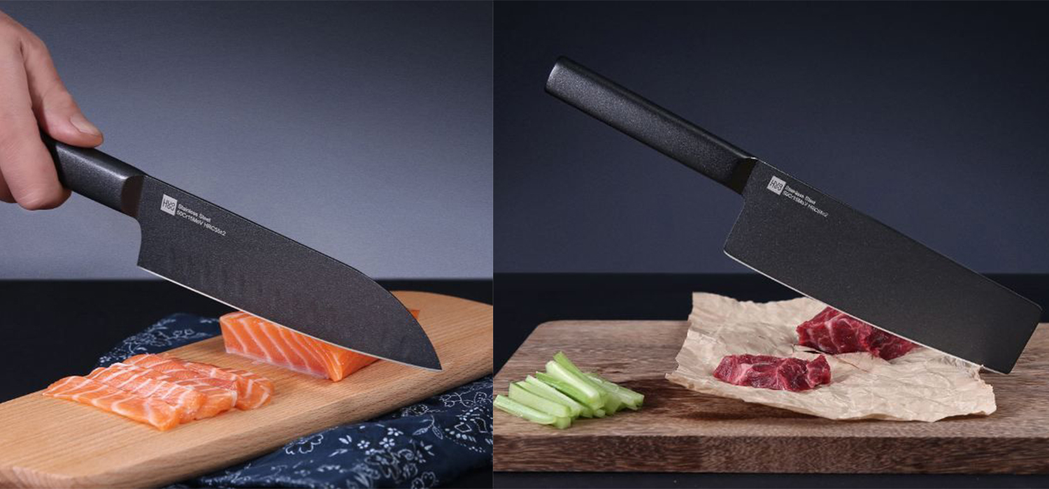 XiaoMi Huo Hou Black Heat Knife Set