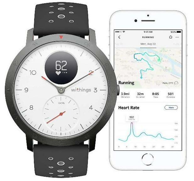 Withings Steel HR Sport (White)